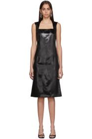 Bottega Veneta Black Satin Dress