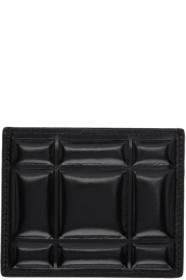 Bottega Veneta Black Padded Paper Card Case