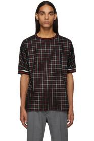 Paul Smith Black Tattersal Check T-Shirt