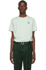 Paul Smith Green Embroidered Logo T-Shirt