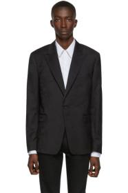 Paul Smith Black Floral Kensington Blazer