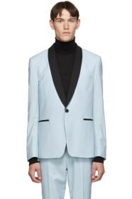 Paul Smith Blue Shawl Tuxedo Blazer