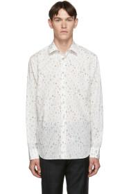 Paul Smith White Floral Soho-Fit Shirt