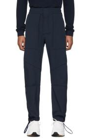 Bottega Veneta Navy Gabardine Trousers