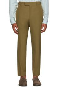 Paul Smith Brown Formal Trousers