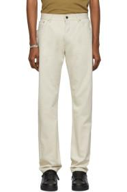 Bottega Veneta Off-White Workwear Jeans