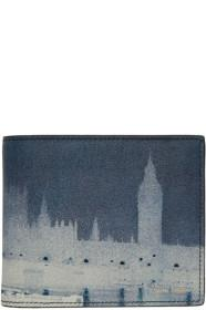 Paul Smith Blue London Photo Bifold Wallet