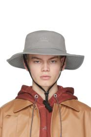 A-Cold-Wall* Grey Bucket Hat