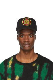 Dsquared2 Black 'Canadian Brothers' Baseball Cap