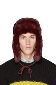 Paul Smith Red Matthew Traper Hat