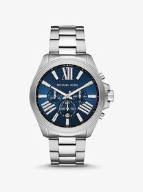 Michael Kors Oversized Wren Silver-Tone Watch