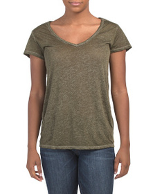C&C CALIFORNIA Deep V-neck Tee