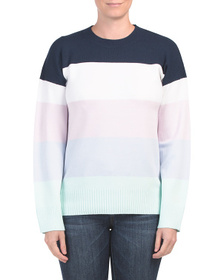 FRENCH CONNECTION Babysoft Color Block Sweater