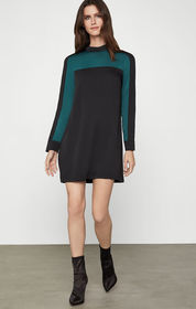 BCBG Colorblocked Shift Dress