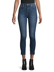 7 For All Mankind Logo Skinny Jeans MOHAWK