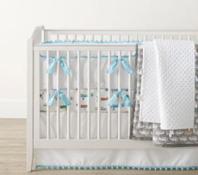 Pottery Barn Boho Tassel Baby Bedding