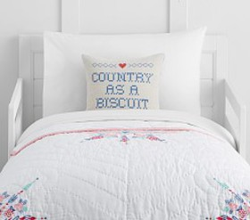 Pottery Barn Junk Gypsy Country Blooms Toddler Qui