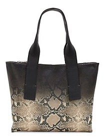 Vince Camuto Renegade Ombré Leather Tote NATURAL
