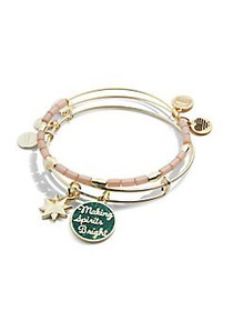 Alex and Ani Goldtone Words are Powerful Spirits B
