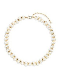 Kate Spade New York Goldtone and Faux Pearl Neckla