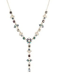Marchesa Goldtone & Multi-Stone Y-Necklace GOLD