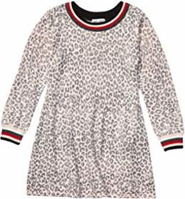 Splendid Littles Leopard Sweater Knit Dress (Toddl