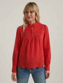Lucky Brand Cora Embroidered Blouse