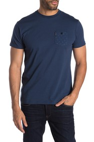 Ben Sherman Polka Dot Pocket T-Shirt