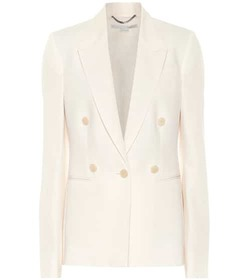 Stella McCartney Wool-crêpe blazer