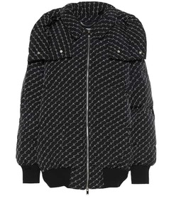 Stella McCartney Logo padded jacket