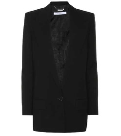 Givenchy Wool and mohair blazer