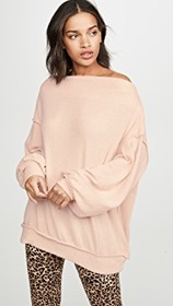 Free People Main Squeeze Hacci Pullover