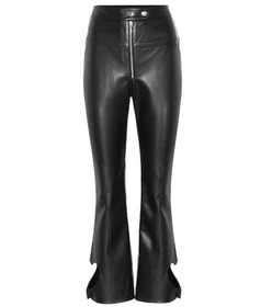 Ellery Jicas high-rise faux leather pants