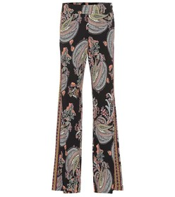 Etro Paisley-printed flared pants
