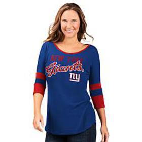"""As Is"" Officially Licensed NFL Women's 3/4 Sleeve"