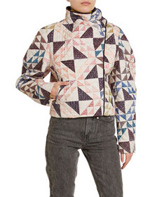 Isabel Marant Patchwork Quilted Coat