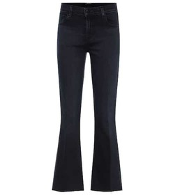 J Brand Selena mid-rise bootcut jeans