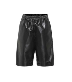 Tod's Leather shorts