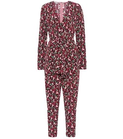 Stella McCartney Floral silk jumpsuit