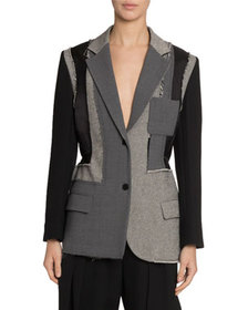 JW Anderson Patchwork Tailored Jacket