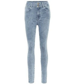 J Brand x Elsa Hosk Saturday high-rise skinny jean