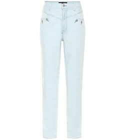 J Brand x Elsa Hosk Playday high-rise tapered jean