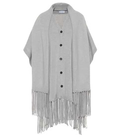 Salvatore Ferragamo Cashmere cape and scarf set