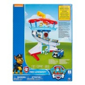 PAW PATROL PAW Patrol The Lookout Tower Slide Play