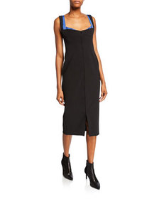 Thierry Mugler Sleeveless Fitted Dress