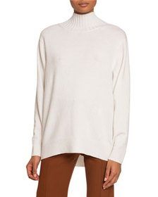 Chloe Cashmere Open-Back Sweater
