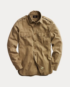 Ralph Lauren Cotton Twill Shirt
