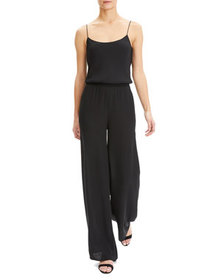 Theory Scoop-Neck Spaghetti-Strap Jumpsuit