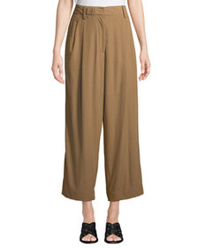 3.1 Phillip Lim Cropped Straight-Leg Tailored Pant