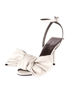 Balenciaga Square Knife Bow Sandals